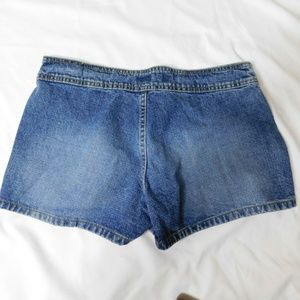 lei Shorts - Lei Button Fly Jean Shorts Size 9